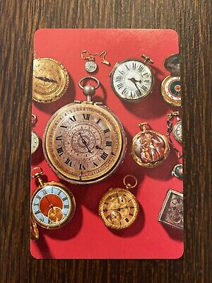 Pocket Watches Single Swap Playing Card - Vintage HOROLOGY WATCHES