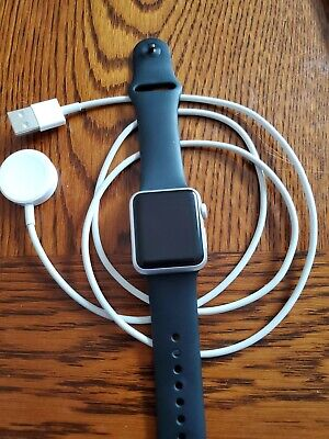 Apple Watch - Series 1 - 38mm Silver - Aluminum Case