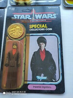vintage star wars POTF Imperial Dignitary MOC c7 Power of the Force