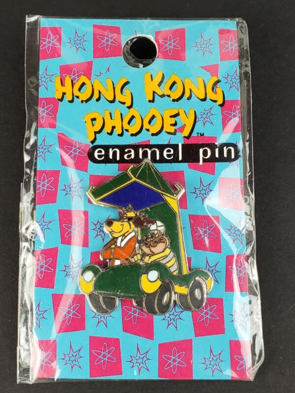 Vintage Hong Kong Phooey & Spot the Cat in Phooeymobile Hanna Barbera RARE - NEW
