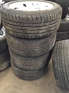 BMW TYPRES AND RIMS- 255/50R19 - 170V Rocklea Brisbane South West Preview