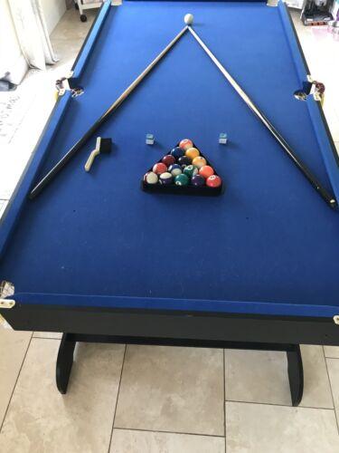 6ft Sturdy Folding Pool Table