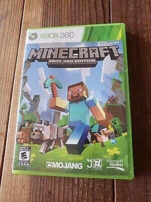 Minecraft (Microsoft Xbox 360, 2013) **FREE SHIPPING**