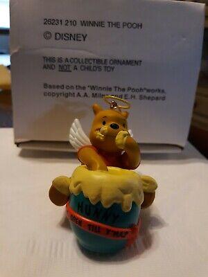Disney Winnie The Pooh Grolier Christmas Ornament 26231 #210