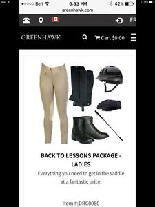 Equestrian Lessons Package