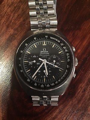 Men's Omega Speedmaster Professional Mark II Chronograph Caliber 861