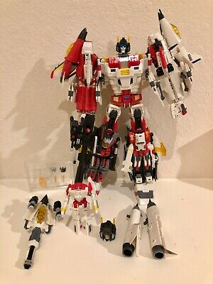 Transformers 3rd Party TFC **Uranos** aka Superion Combiner w/ Upgrade