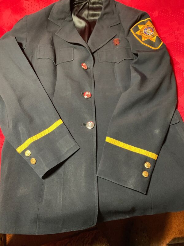 Vintage Obsolete Onondaga County Sheriff's Department Ny Jacket L@@K!!!