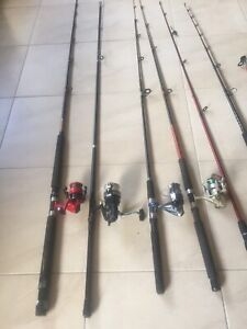 Fishing rods A$40 each