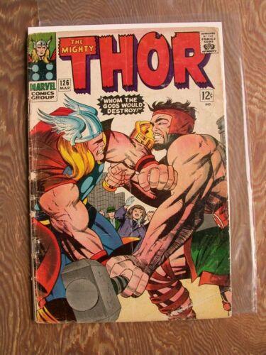 Thor  #126   G