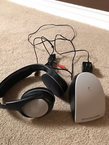 Sennheiser wireless head phones for homestereo cable boxes etc