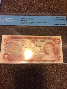 Canadian bill , will trade for silver gold coins