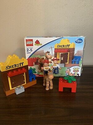 LEGO Duplo Toy Story 3 Jessie's Roundup 5657 Complete NO INSTRUCTIONS