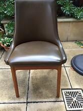 Retro dining chairs, four of them Kensington Norwood Area Preview