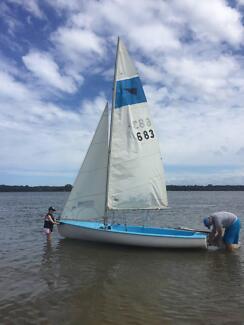 sailing boat 16ft corsair