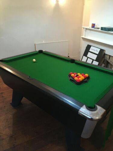 Supreme Winner 6x3 Slate Pool Table Freeplay Edition