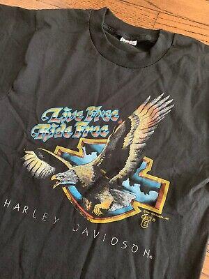 Vtg Harley Davidson T Shirt 80s 90s Holoubek single stitch Made In USA