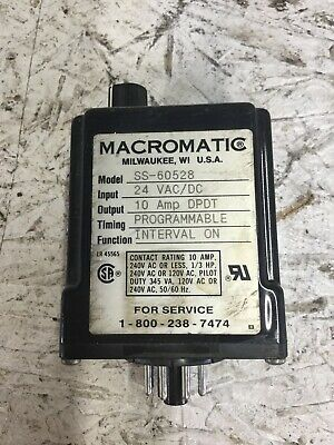 Macromatic Ss-60528 Time Delay Relay
