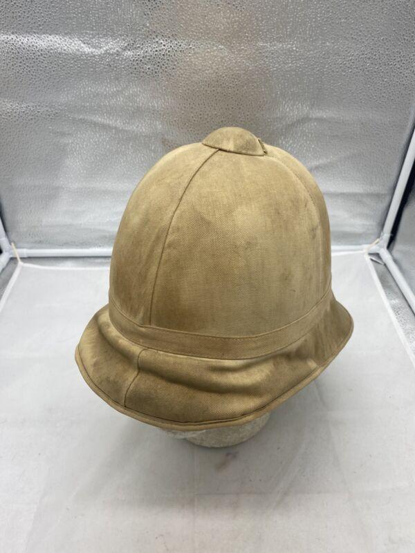 US Army Indian War Period Summer Helmet Original Size 7 1/8 (G864