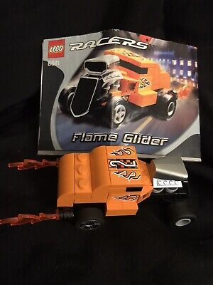 Lego Racer Flame Glider Car, 8641 Complete In Box With Instructions 6+ Years
