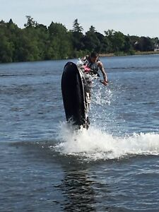 BOB HULL freestyle competition stand up jet ski