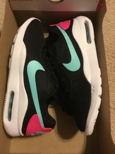 New Nike Women's Air Max Oketo Running Shoes Pink Aqua Size 8 NEW CT1543-001