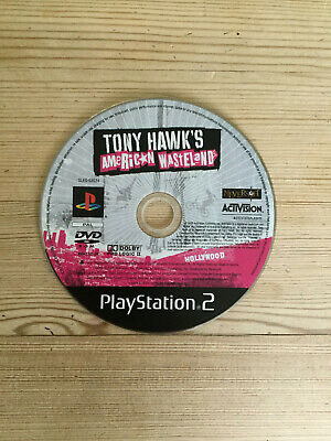 Tony Hawk's American Wasteland for PS2 *Disc Only*