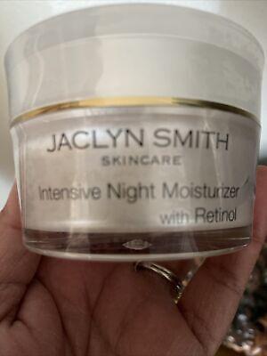 JACLYN SMITH SKINCARE~INTENSIVE NIFHT MOISTURIZER W/ RETINOL~1.7 Oz~New