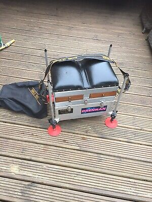 BRILO EURO CANAL 4 Drawer Pole Fishing Seatbox. Great Cond