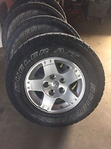 Rims and tires 2004 dodge 1500
