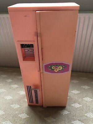 Vintage Pedigree Sindy Doll House Furniture - Double American Fridge Freezer