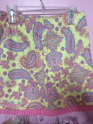Vans With Skirts (Lilly and Van Skirt - Paisley Print with Pink Trim - Fully Lined - Size)