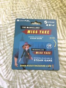 The Marvellous Miss Take Steam Game 15$ OBO