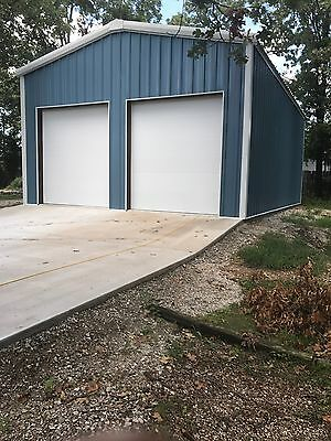 24x36x10 Steel Garageworkshop Building Kit Excel Metal Building Systems Inc