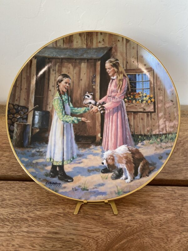 """Little House on the Prairie """"Mary's Gift"""" Collectible Plate E Christopherson"""