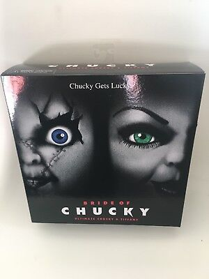 NECA BRIDE OF CHUCKY, ULTIMATE CHUCKY AND TIFFANY FIGURES, 2-PACK (NEW) - Bride Of Chuckie