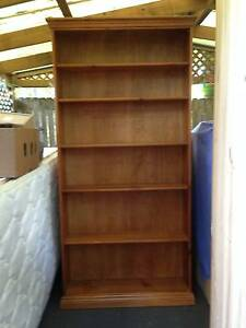 Bookcases x 2, stained baltic pine Cronulla Sutherland Area Preview
