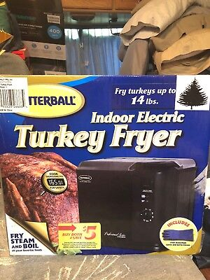 NEW In Box! Masterbuilt Butterball Indoor Electric Turkey Cook Fryer
