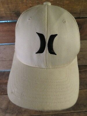 HURLEY Apparel White Black Flex Fitted Youth Cap Hat Hurley Kids Clothing