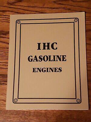 Ihc International Harvester Gasoline Engines