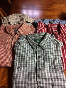Men's short sleeve shirt size M- 5 in total