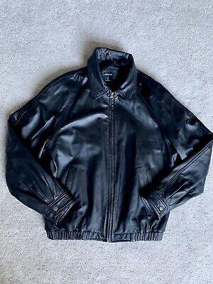 Mens Colebrook Leather Jacket Size M