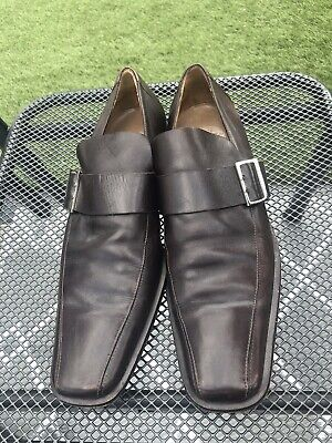 Mens Versace Brown Shoes Size Size 10 (44)