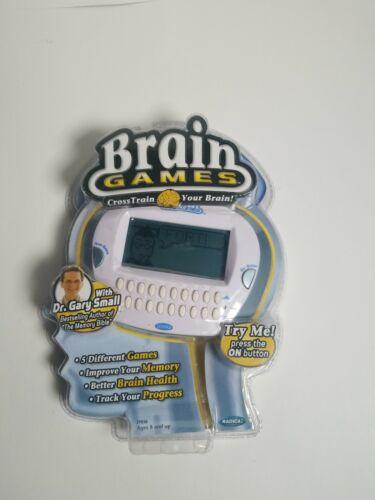Radica Brain Games Memory Electronic Handheld Game Sealed 2006 Gary Small 17038