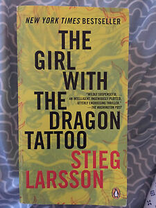 2 books: girl w the dragon tattoo & girl who played with fire