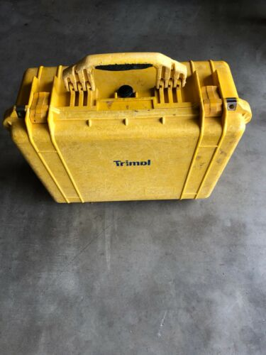 Trimble GPS Pelican Waterproof Equipment Case