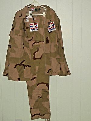 Propper BDU Dessert Camouflage Uniform Hose & Jacke Medium Long M L US Army Tarn