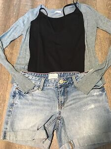 10 PIECES OF GIRLS CLOTHING SIZE *12-14//(3)