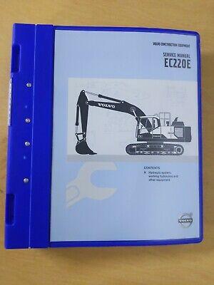Volvo Construction Equipment Service Manual Ec220e