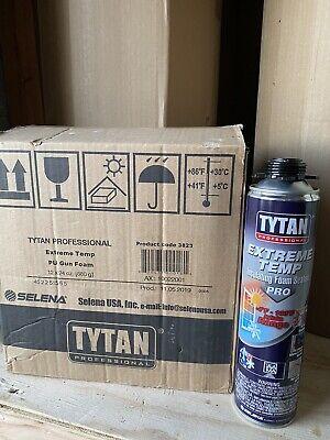 Tytan Professional Extremewindowdoor Insulating Foam Sealant 24oz. Box-12cans